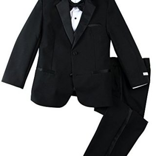 Spring Notion Little Boys' Modern Fit Tuxedo Set
