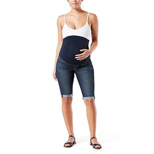 Signature by Levi Strauss & Co Women's Maternity Mid-Rise Skinny Shorts