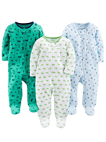 Simple Joys by Carter's Baby Boys' 3-Pack Sleep and Play