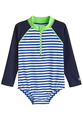 Coolibar UPF 50+ Baby Wave One-Piece Swimsuit