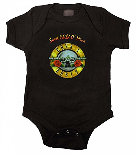 Guns N Roses Sweet Child O Mine Onesie, 24 Months