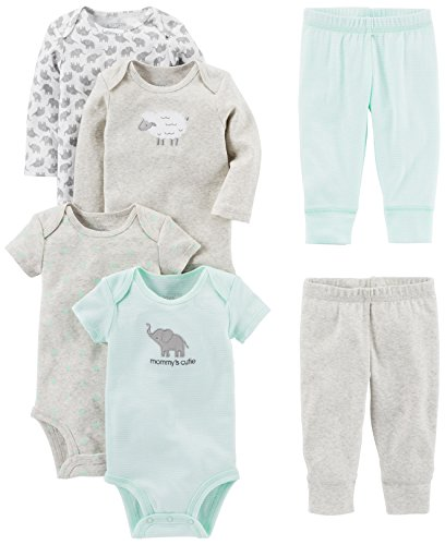 Simple Joys by Carter's Baby 6-Piece Neutral Bodysuits