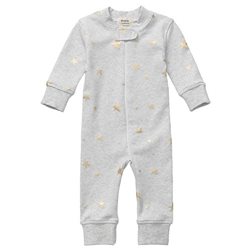 Owlivia Organic Cotton Baby Boy Girl Zip Up Sleep N Play