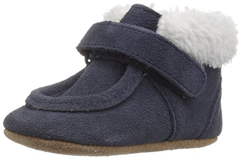 Robeez Boys' Sawyer Snuggle Bootie Boot Navy