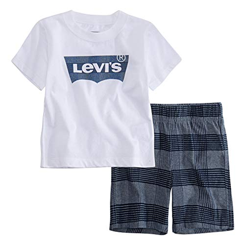 Levi's Baby Boys Graphic T-Shirt and Shorts Two-Piece Set