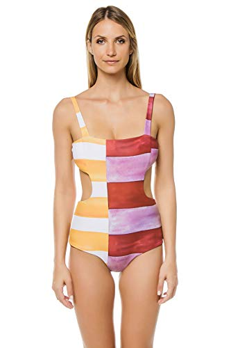 Mara Hoffman Women's Mina Cut-Out One Piece Swimsuit