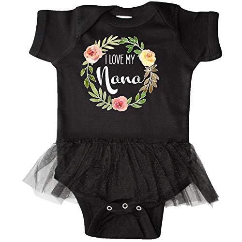 inktastic - I Love My Nana- Flower Infant Tutu Bodysuit