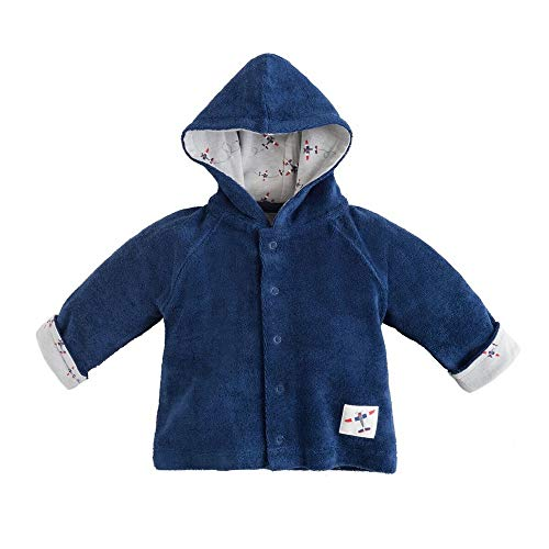 Under the Nile Organic Cotton Twilight Navy Baby Boy