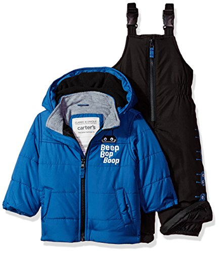 Carter's Baby Boys Heavyweight Bubble 2-Piece Snowsuit