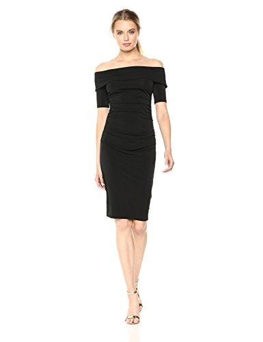 Trina Trina Turk Women's Jacey Dress, Black Large