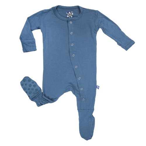Kickee Pants Baby-Boys Footie Pajama- Twilight, 0-3 Months