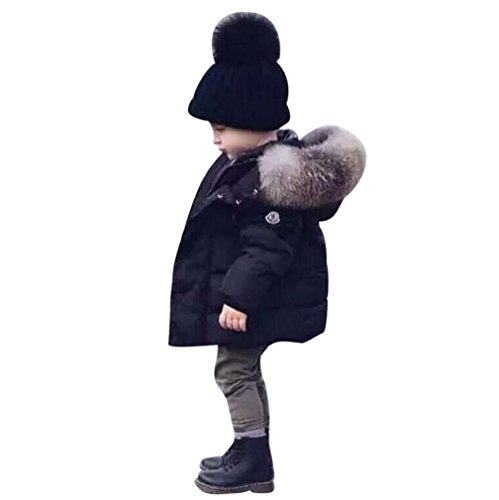 Sunbona Toddler Baby Boys Cute Heavyweight Down Jacket