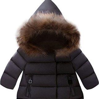 Jojobaby Baby Boys Girls Hooded Snowsuit Winter