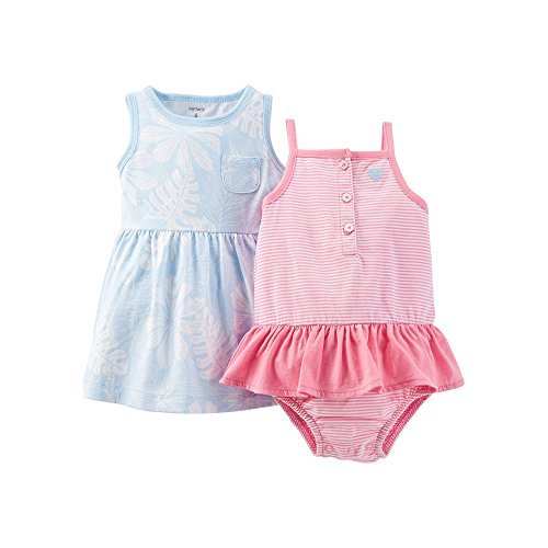 Carter's Baby Girls Dress & Bodysuit Set