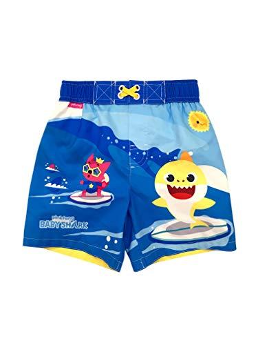Toddler Boy Baby Shark Swim Trunk 4T