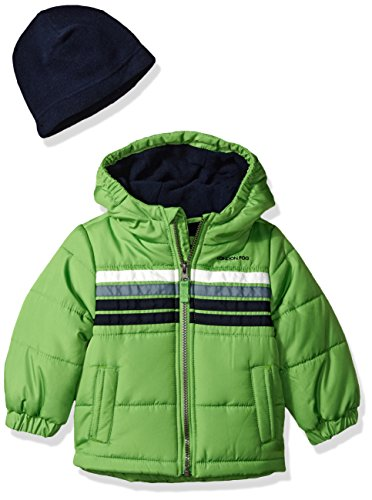London Fog Baby Boys Heavyweight Puffer Jacket
