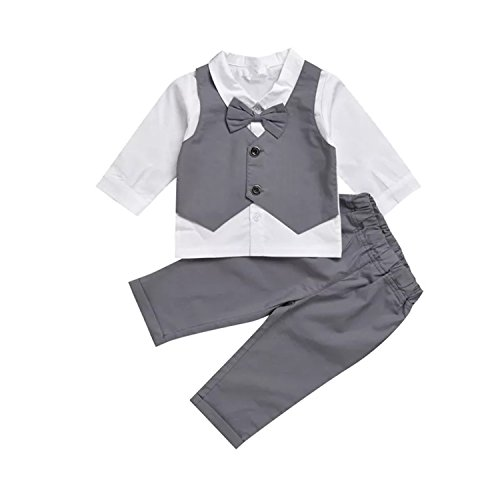 Infant and Toddler Baby Boy Gentleman Formal Party Wedding