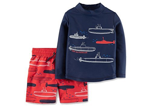 Just One You by Carters Toddler Boys' Submarines Long Sleeve
