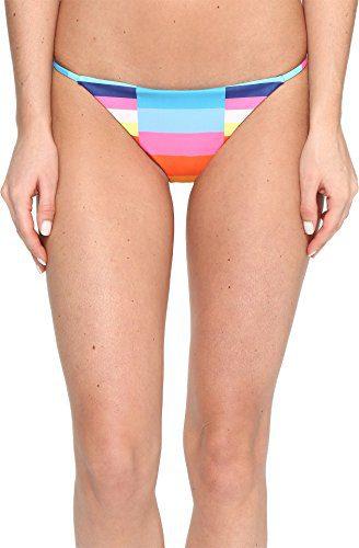 Mara Hoffman Women's Spaghetti Strap Bikini Bottom Swimsuit