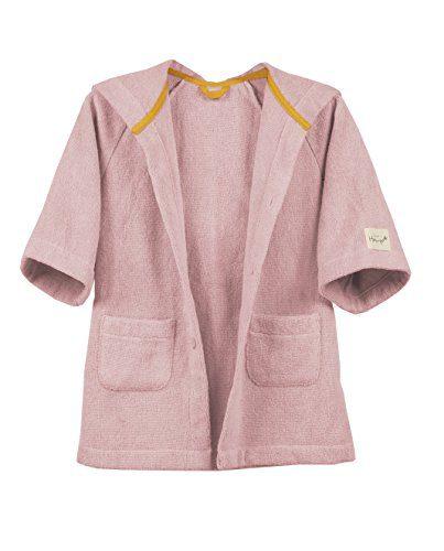 Hemp Bath & Beach Hooded Robe Jacket for Boys and Girls