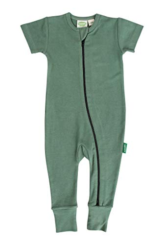 Parade Organics Essential Basics '2-Way' Zip Romper
