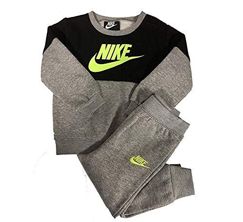 Nike Baby Boy's Colorblock Fleece Sweater & Pants Set