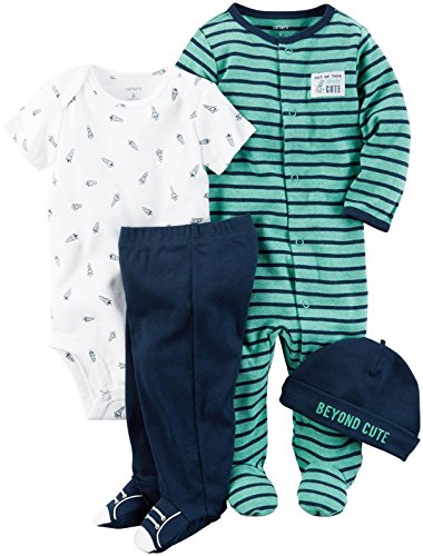 Carter's Baby Boys' Multi-pc Sets, Navy 6 Months