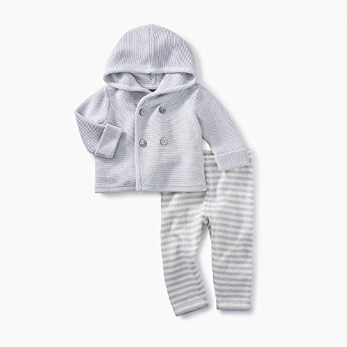 Tea Collection 2 Piece Baby Soft Sweater Outfit, 100% Soft Pima Cotton