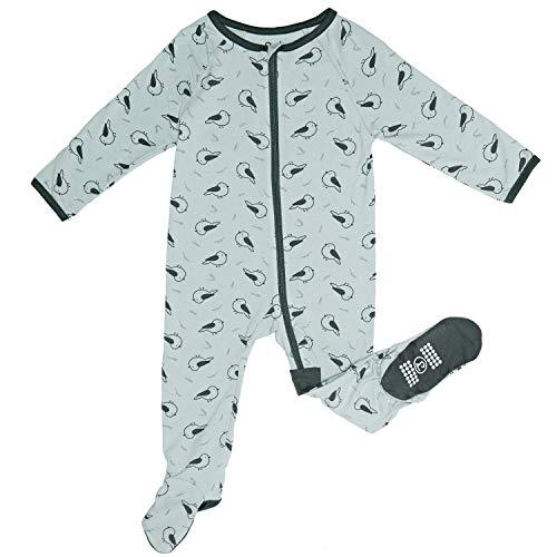 Zip Sleeper Baby Onesie for Boy or Girl, Premium Bamboo