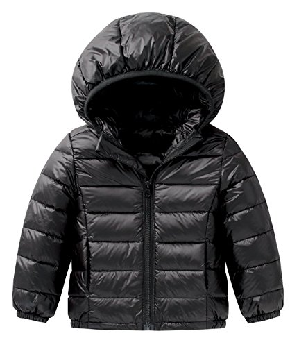 Happy Cherry Baby Boys Girls Down Coat Puffer Hoodie Jacket