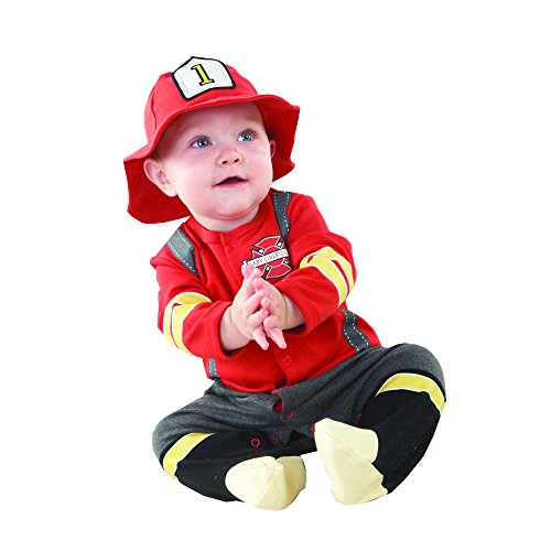 Baby Aspen, Baby Firefighter Themed Gift Box