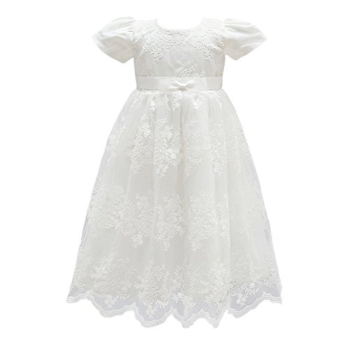 Glamulice Baby Girl Flower Christening Baptism Dress
