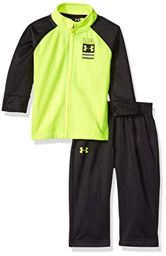 Under Armour Boys' Baby Track Set, hi gh/vis Yellow