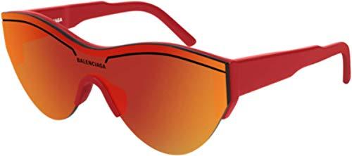 Balenciaga Sunglasses Red Mirror Lens 99