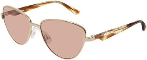Balenciaga Sunglasses Gold-Havana, Brown Lens