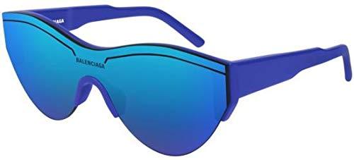 Balenciaga Sunglasses 004 Blue/Blue Mirror(Double) Lens 99 mm