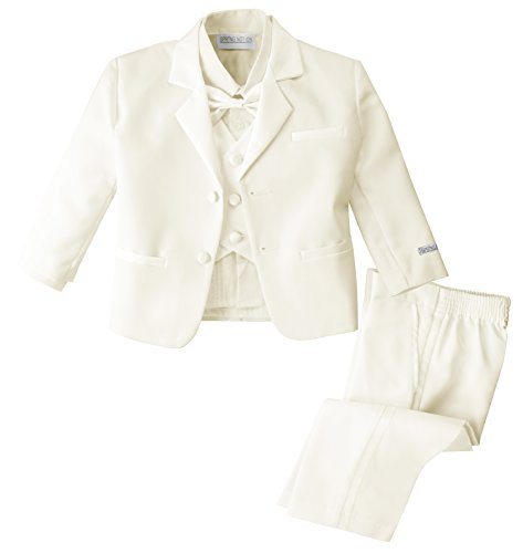 Spring Notion Baby Boys' Ivory Classic Fit Tuxedo Set