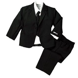 Spring Notion Baby Boys' Formal Black Dress Suit Set 18M (Large)