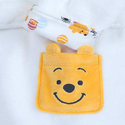 Disney Winnie The Pooh Hooded Robe for Baby Multi