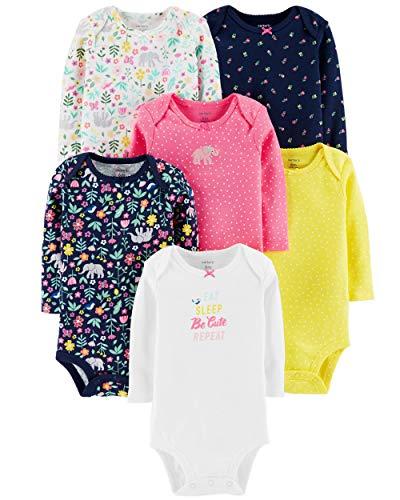 Carter's Unisex Baby Long-Sleeve Bodysuits