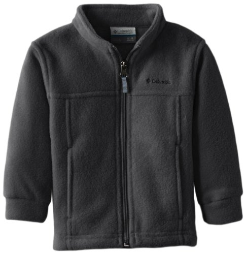 Columbia Baby Boys' Steens Mt II Fleece, Charcoal Heather