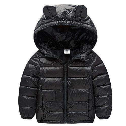 Baby Boys Girls Winter Puffer Down Jacket Kids Ear Warm Coat