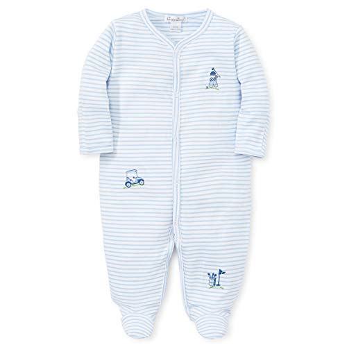 Kissy Kissy Baby Boys First Tee - Striped Footie-Newborn
