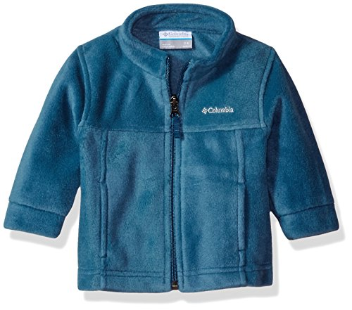 Columbia Baby Boys' Steens Mt Ii Fleece, Blue Heron 3-6 Months