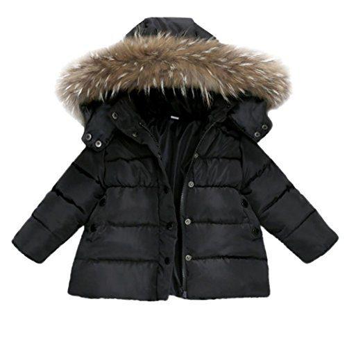 Sunbona Toddler Baby Boys Down Jacket Coat Autumn Winter