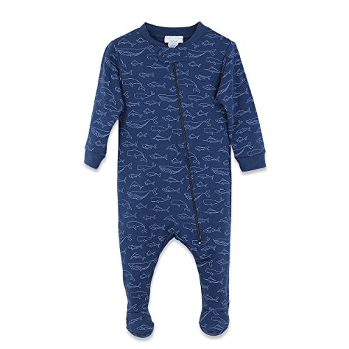 Feather Baby Boys Clothes Pima Cotton Long Sleeve Zipper
