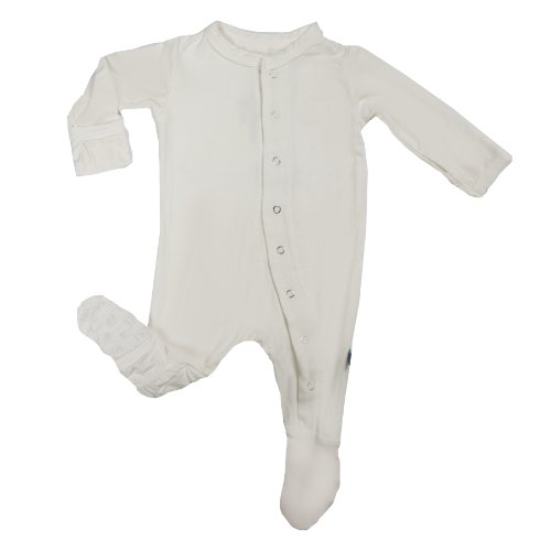 KicKee Pants Footie, Natural, 6-12 Months