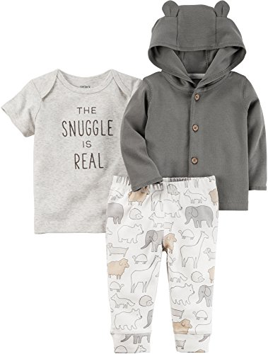 Carter's Baby 3 Piece The Snuggle Is Real Tee