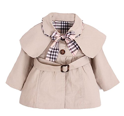 Kids Baby Girl Spring Autumn Trench Coat Fashion