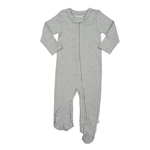 Finn + Emma Basics - Organic Cotton Footie for Baby Boy or Girl